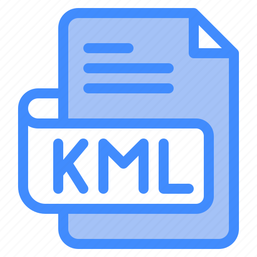 Kml, file, type, format, extension, document icon - Download on Iconfinder