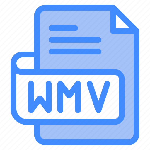 Wmv, file, type, format, extension, document icon - Download on Iconfinder