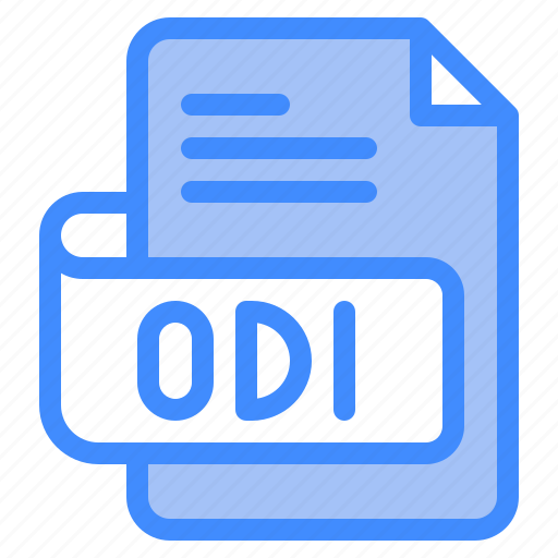 Odi, file, type, format, extension, document icon - Download on Iconfinder