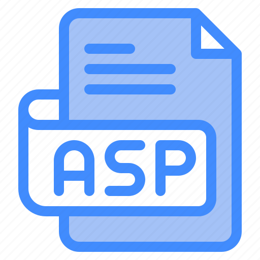 Asp, file, type, format, extension, document icon - Download on Iconfinder