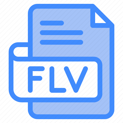 Flv, file, type, format, extension, document icon - Download on Iconfinder