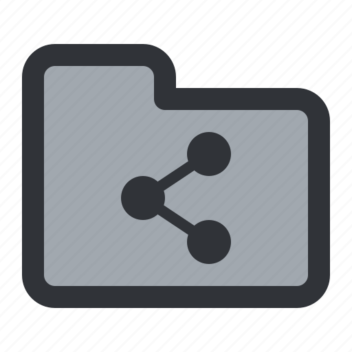 documents, files, folder, share, storage icon