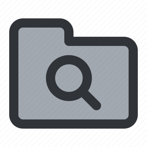 documents, files, find, folder, search, storage icon