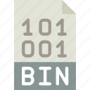 bin, download, extension, file, format, type