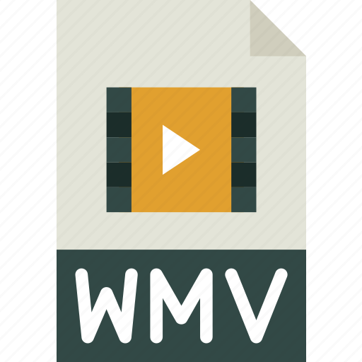 download, extension, file, format, type, wmv icon