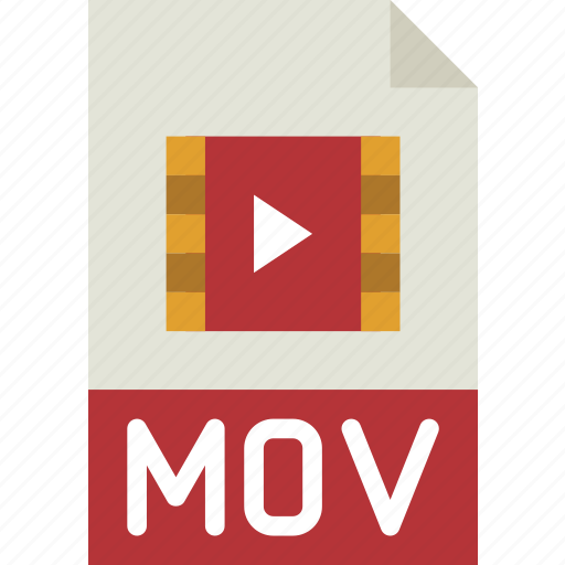 download, extension, file, format, mov, type icon