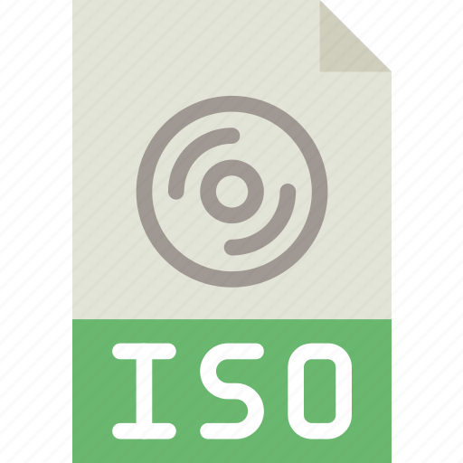 download, extension, file, format, iso, type icon