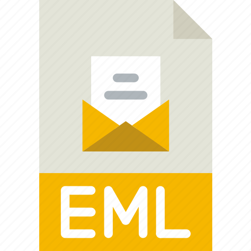 download, eml, extension, file, format, type icon