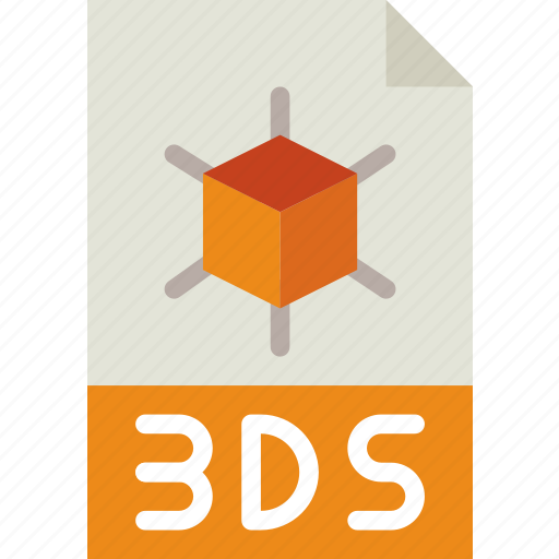3ds, download, extension, file, format, type icon