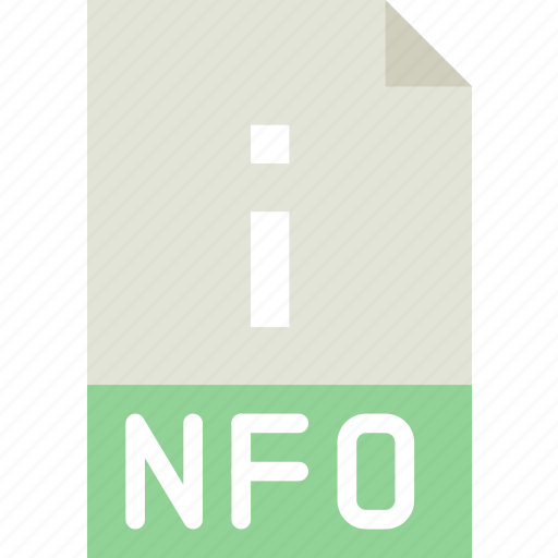 download, extension, file, format, nfo, type icon