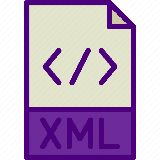 download, extension, file, format, type, xml icon