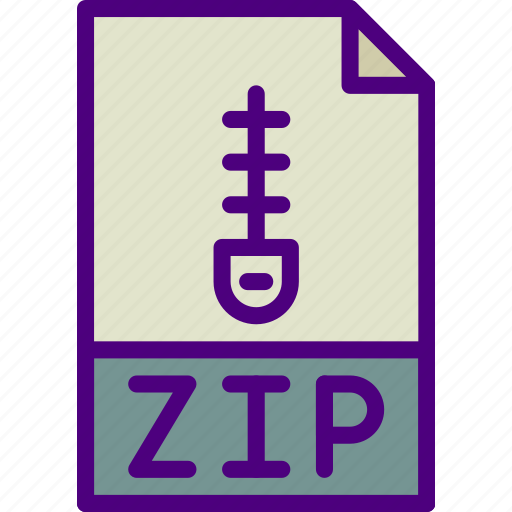 archive, download, extension, format, type, zip icon