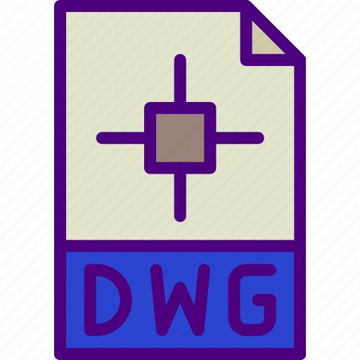 download, dwg, extension, file, format, type icon