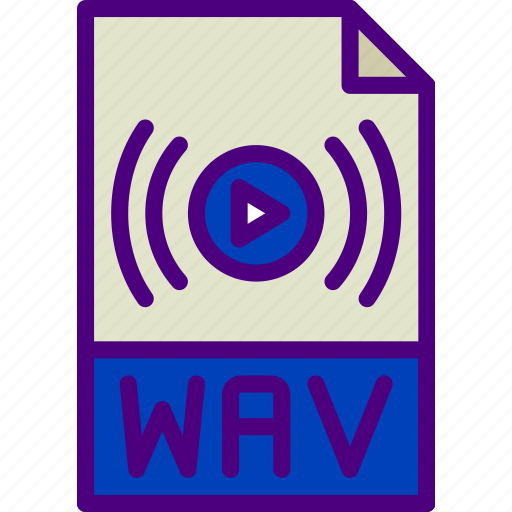 download, extension, file, format, type, wav icon