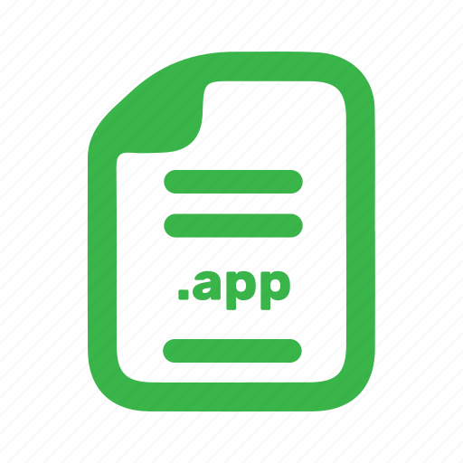 app, document, file, page icon