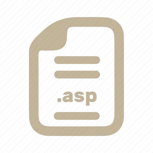 asp, document, file, page icon