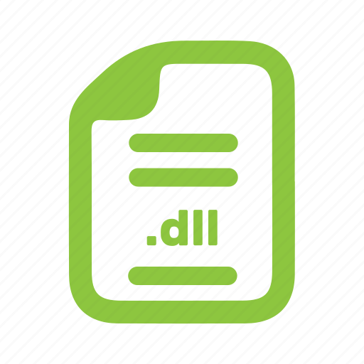 dll, document, file, page icon