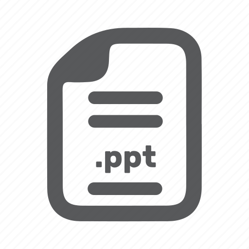 document, file, page, ppt, presentation icon
