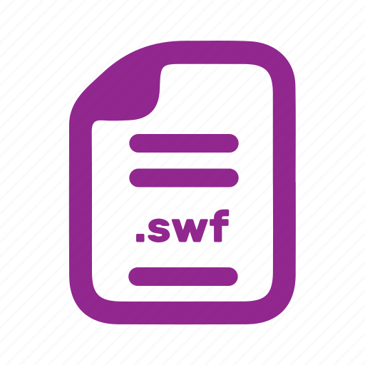 document, file, page, swf icon
