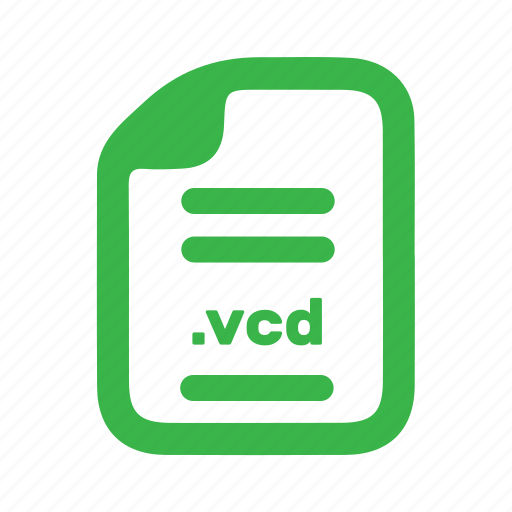 document, file, page, vcd icon