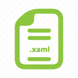 document, file, page, xaml icon