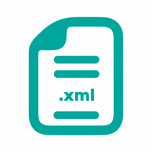 document, file, page, xml icon