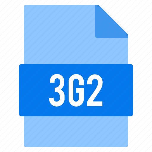3g2, document, extension, file, types icon