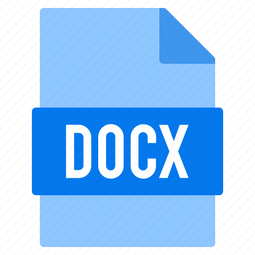 document, docx, extension, file, types icon