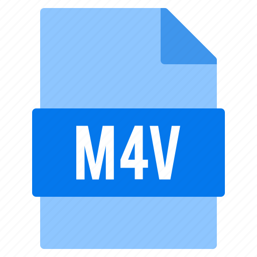 Document, extension, file, m4v, types icon - Download on Iconfinder