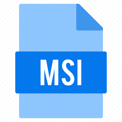 Document, extension, file, msi, types icon - Download on Iconfinder