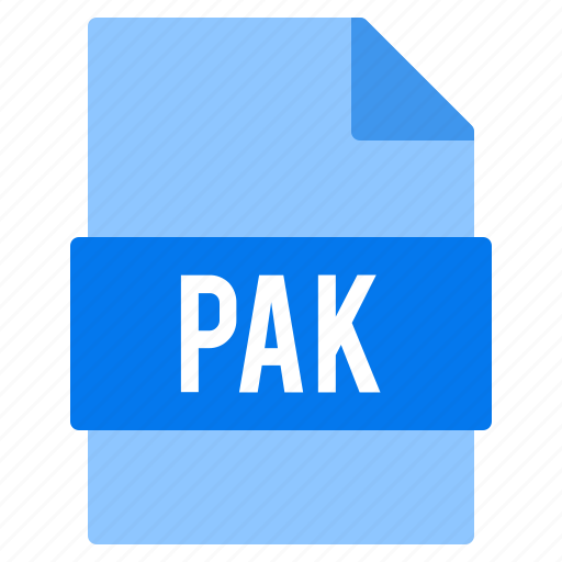 Document, extension, file, pak, types icon - Download on Iconfinder