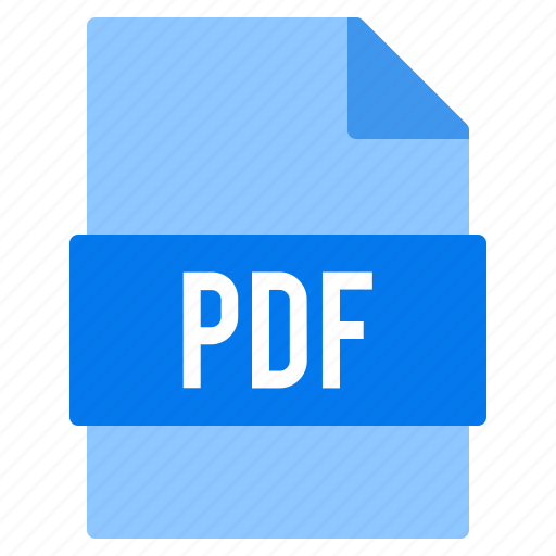 document, extension, file, pdf, types icon