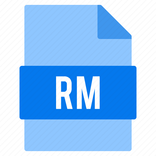 Document, extension, file, rm, types icon - Download on Iconfinder