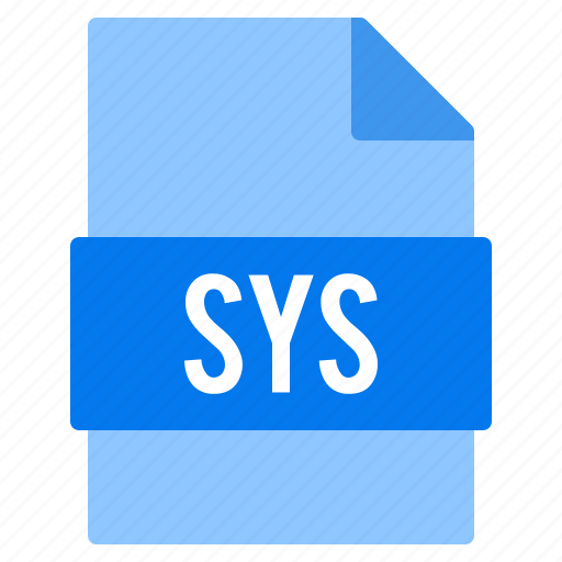 Document, extension, file, sys, types icon - Download on Iconfinder