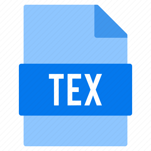 Document, extension, file, tex, types icon - Download on Iconfinder