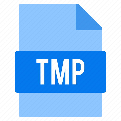 document, extension, file, tmp, types icon