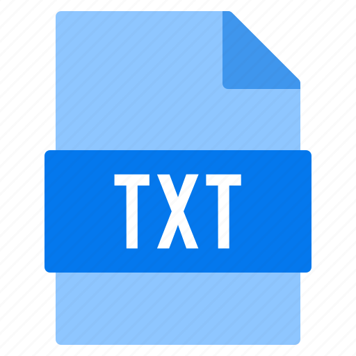 Document, extension, file, txt, types icon - Download on Iconfinder