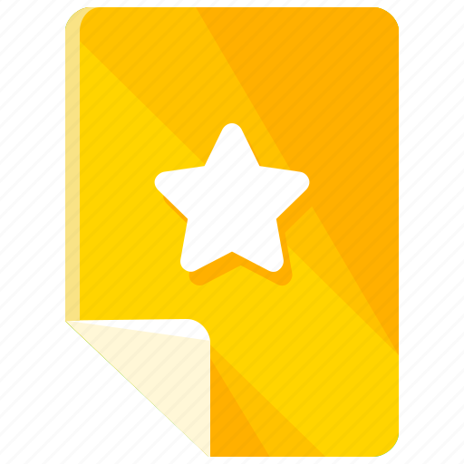 bookmark, bookmarks, document, favorite, files, star icon