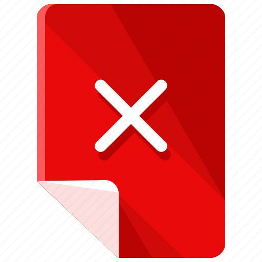 Cancel, checkmark, close, delete, files, remove icon - Download on Iconfinder