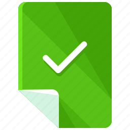 accept, approve, check, checkmark, confirm, files, ok icon