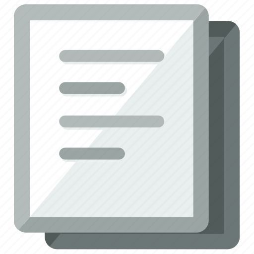 document, documents, duplicate, file, files, paper icon