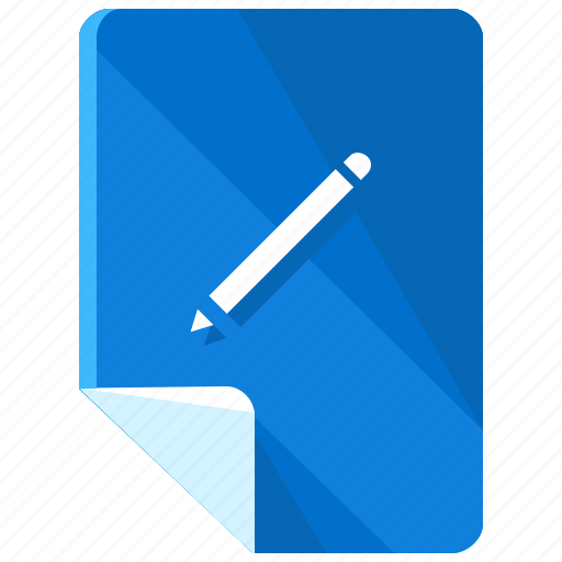 design, document, draw, edit, files, pencil, write icon