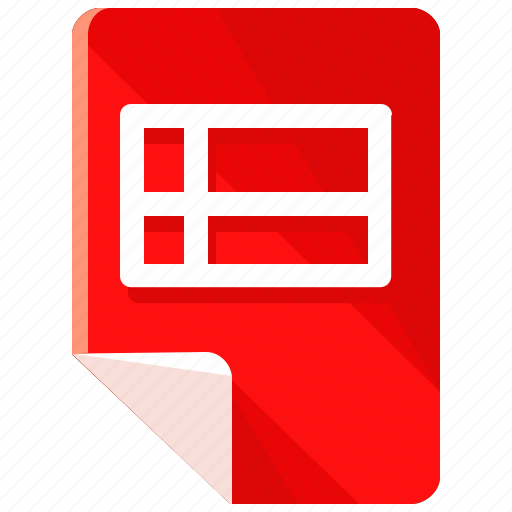chart, document, excel, file, files, format, sheet icon