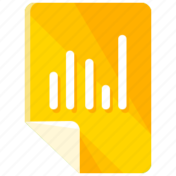 analytics, chart, diagram, files, graph, statistics icon
