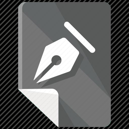 design, edit, files, pen, tool, write icon