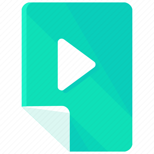 audio, file, files, movie, music, play, video icon