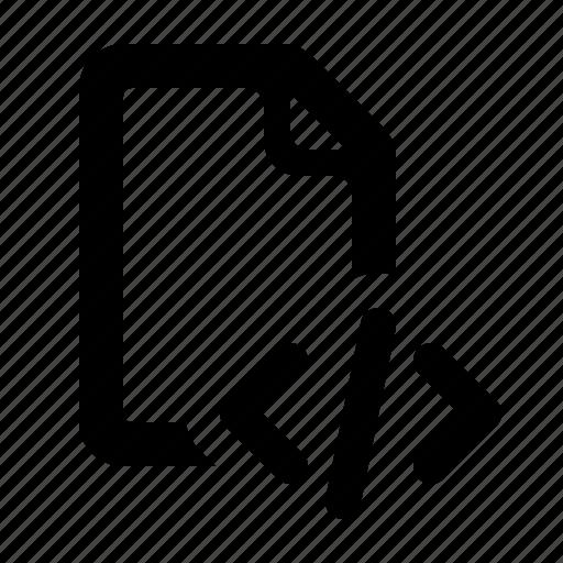 code, code file, code script, document, file, script, watchkit icon