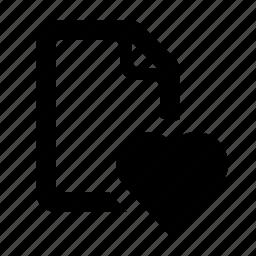 document, favorite, favorite file, favourite, file, watchkit icon