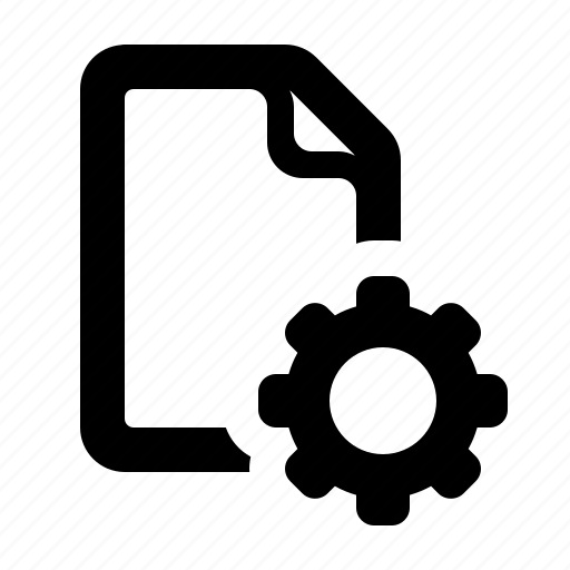 document, file, settings, settings file, watchkit icon