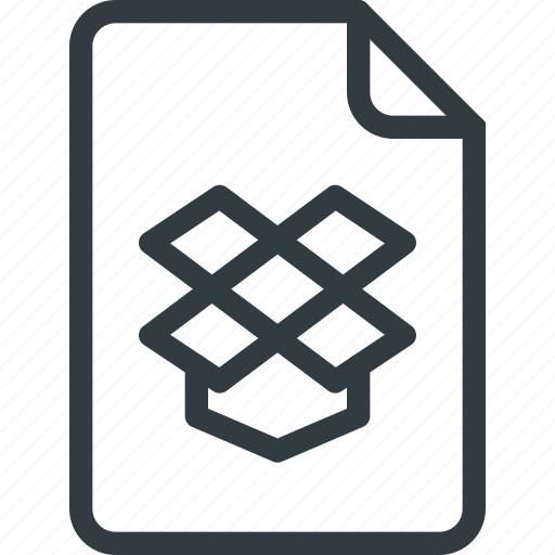 Documen, dropbox, file, paper icon - Download on Iconfinder